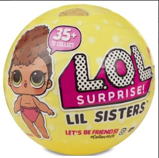 L.O.L. Confetti Lil Sisters Series 3-1