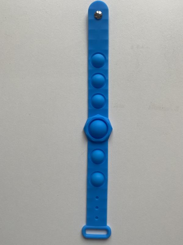 Fidget Pop It armband blauw