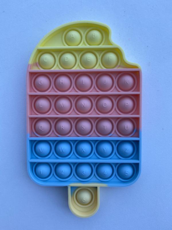 Fidget Toys Pop It ijsje