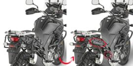 Givi PLR 3112 zijkofferhouder + Givi E22 kofferset aanbieding DL 650 2017-2018