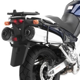 Givi kofferrek + Givi E22 kofferset  DL1000 2002-2010