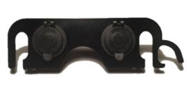 Dubbele 12V aansluiting  dashboard DL 650 K4-K6