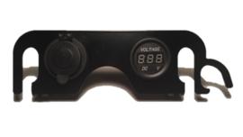 12V aansluiting met Voltmeter dashboard  DL 650 K4-K6