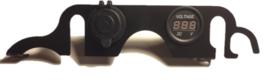 12V aansluiting met Voltmeter dashboard DL1000 2005-2010
