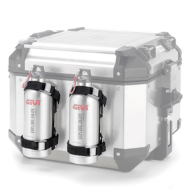 Givi drinkfles houder E162 met Givi drinkfles STF500S DL 650 K4-K6