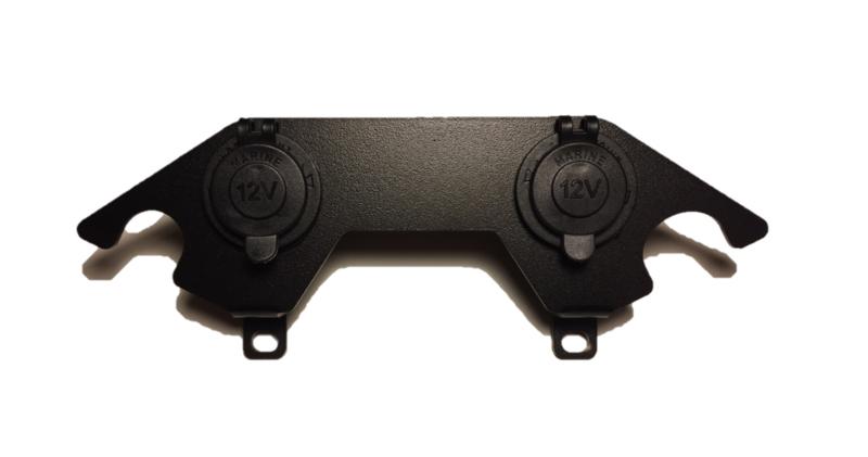 Dubbele 12V aansluiting  dashboard  DL 650 L2 L3 L4 L5 L6 ( 2012-2016 )