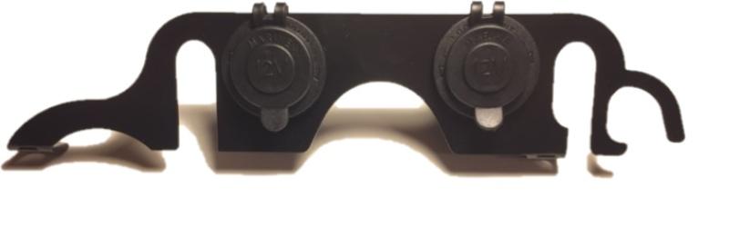 Dubbele 12V aansluiting  dashboard DL1000 2005-2010