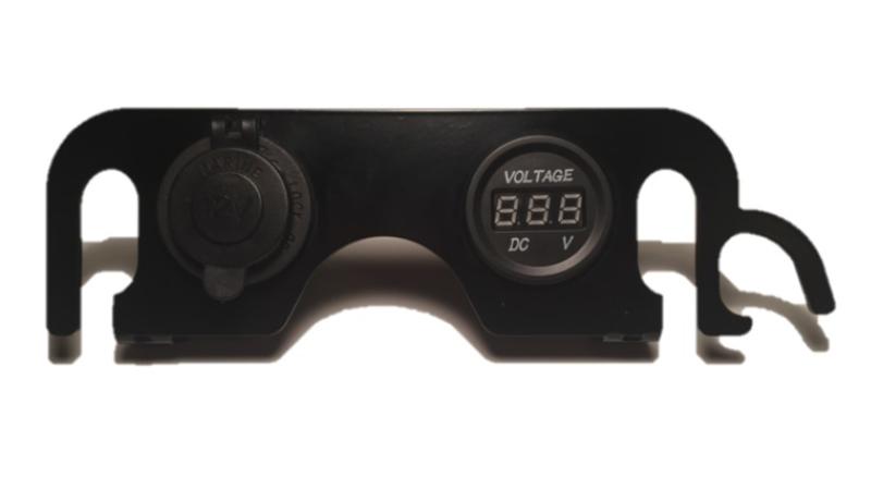 12V aansluiting met Voltmeter dashboard DL 650 K7-L01 / 2007-2011