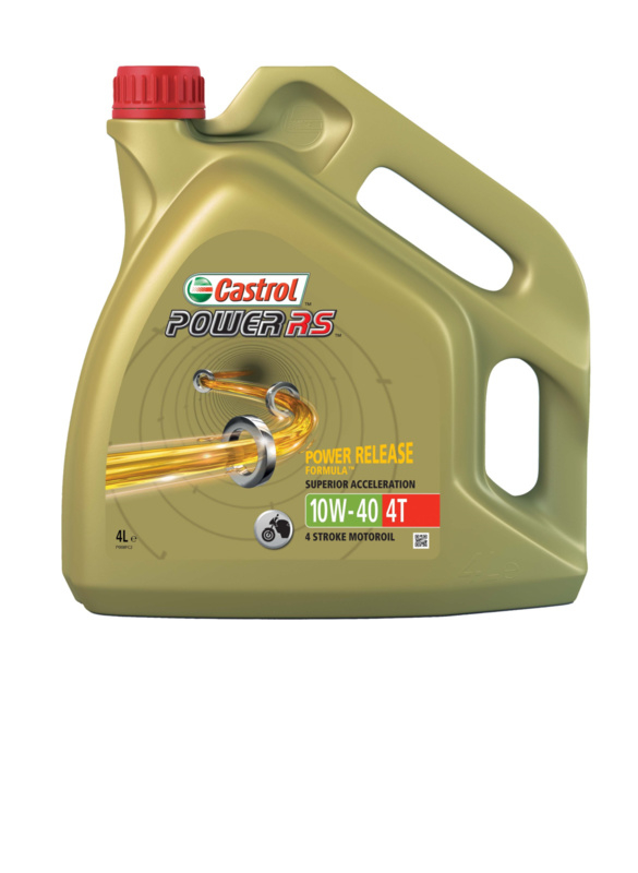 Castrol Power RS 4T 10W40 3 X 4 Liters