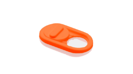 1-Pack Camera-Cover   type: Classic  kleur: oranje