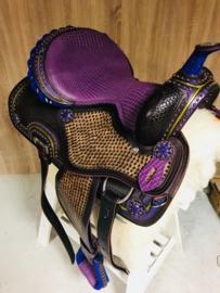Westernzadel Funny Purple  ( 15 inch )