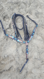 Westernset FH Feather Blue one ear Full