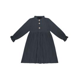 High Waist Dress - Vintage Blue - HOJ