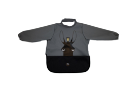 Long Sleeve Bib - Moose Charcoal