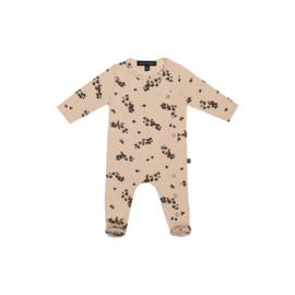Girls Babysuit - Oatmeal Forest - HOJ