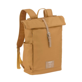 Lässig Rolltop Backpack Diaper Bag, Curry
