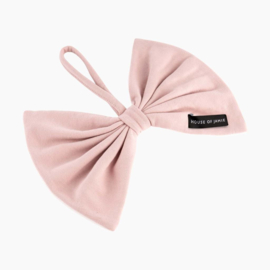 House Of Jamie - Speendoekje Bow Tie Powder Pink