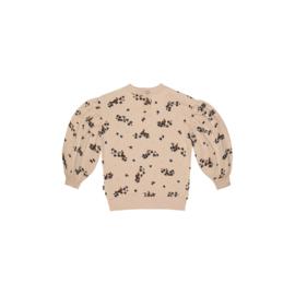 Balloon Sweater - Oatmeal Forest - HOJ