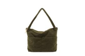 Lifestyle bag | teddy Dark Green - Nanami