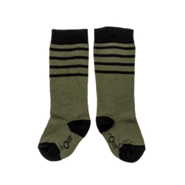 Noeser - Socks Stripe Dark Green