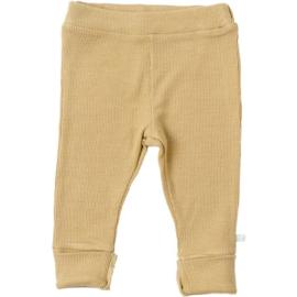 Rib Mustard Pants - Blablabla