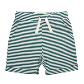 Little Indians Short | Forest Stripes