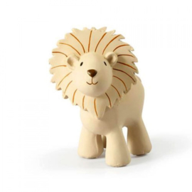 Tikiri Bijt- en Badspeelgoed met Rammelaar - Leeuw