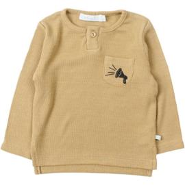 T-shirt Rib mustard Little Activist - Blablabla