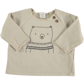 BEANS - ORGANIC COTTON BEAR T-SHIRT GEILO