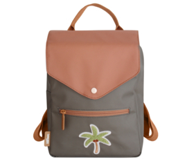 Tropical patch backpack (age 4-10) – Palm tree - Eef Lillemor