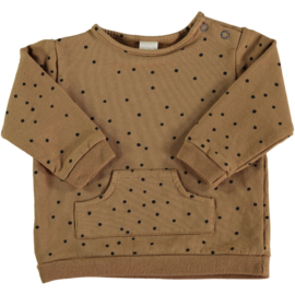 BEANS - ORGANIC COTTON PRINTED SWEATER LEVI