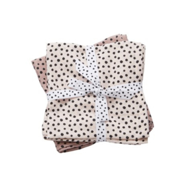 Swaddles  2 pack Powder Happy Dots