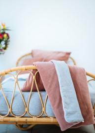 Wieg deken Velours Pink - COCO AND PINE