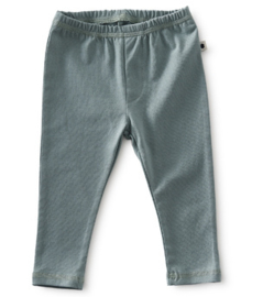 basis baby broekje - faded green - Little label