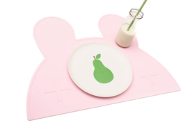 We Might Be Tiny - Placemat Konijn Roze