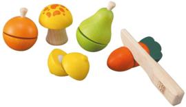 houten keuken accessoires Fruit en Groente set - Plan Toys
