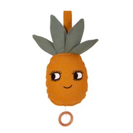 Roommate Muziekdoos Pineapple - Ananas