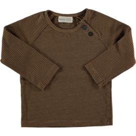 Striped T-shirt Caramel - BeansBarcelona