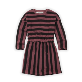 KIDS SKATER DRESS PAINTED STRIPE - Sproet & Sprout