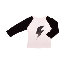 T-shirt Noë & Zoë Black Flash