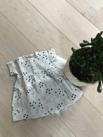 Daisy Printed Dress Grey -  Beans Barcelona