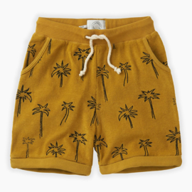 Shorts Terry Palm Tree - Sproet & Sprout