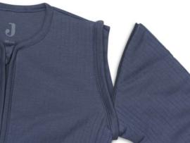 Baby Slaapzak 70cm Basic Stripe - Met Afritsbare Mouw - Jeans Blue