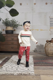 Sweater Colourful Rainbow - Ecru - Little indians