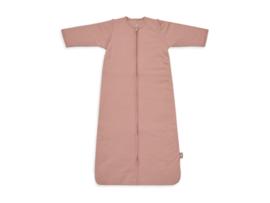 Baby Slaapzak 110cm Basic Stripe - Met Afritsbare Mouw - Rosewood