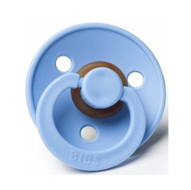 BIBS - 0-6M Fopspeen latex - Sky blue
