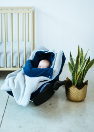 Maxi Cosi Cover Velours Navy - COCO AND PINE