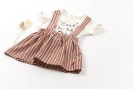 Salopette Skirt Striped Star - BlaBlaBla