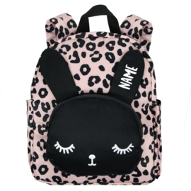 Bunny Backpack Pink SMALL / VanPauline