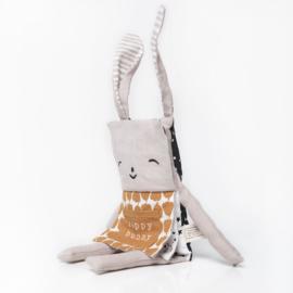 Organic Bunny Flippy Friend - Wee Gallery